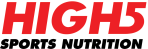 High5 Sports Nutrition Logo Red-White